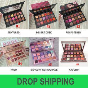Dropshipping eyeshadow 팔레트 뷰티 18 색 아이섀도 팔레트 Epacket 무료 배송