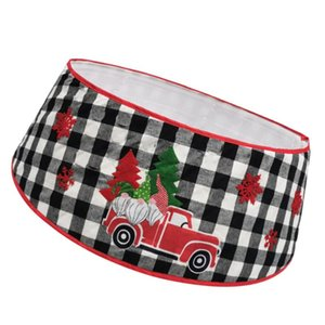 Tree Skirt Mat Tree Bottom Cover Christmas Apron For Xmas Party Home Shopping Mall