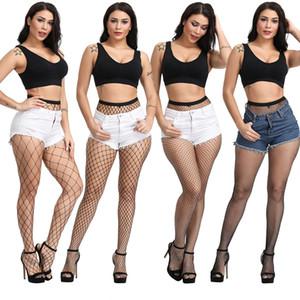 INS Hot Sale Women's Long Sexy Fishnet Stockings Fish Net Pantyhose Mesh Stockings Lingerie Skin Thigh High Stocking black color 10pcs lot