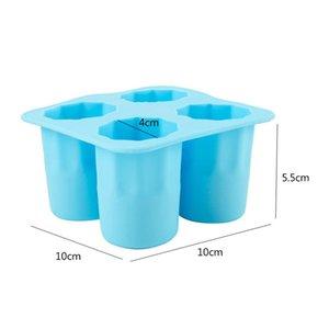 شريط حزب شرب علبة الجليد شكل بارد الجليد مكعب تجميد العفن صانع الجليد القالب يمكنك أن تأكل كأس 4 كوب العفن SQCVVW PPSHOP01