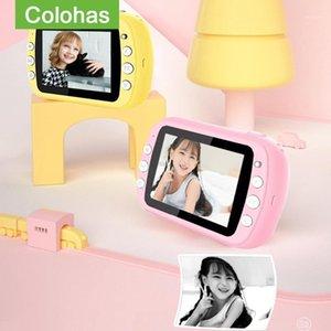 Digital Cameras Kids Video Camera Chirdren's Instantane Toy For Girls Instant Print Po Christmas Brithday Gift1