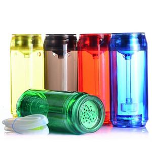 Iluminação LED Cóia de Hookah Viagem Portátil Portátil Cachimbo de Cachorro Levou Capo De Shisha Set 5 Color Cola Cup
