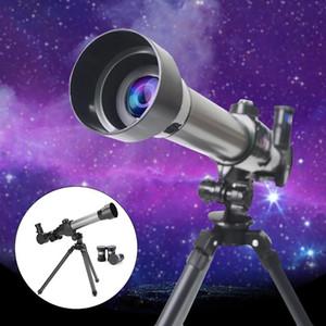 الأطفال التجريبية التلسكوب الفلكي زاوية واسعة التكبير طلاب تلسكوب ترايبود أحادي للأطفال هدايا السنة الجديدة اللعب