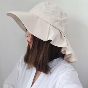 PROTECCIÓN UV al aire libre Protección grande Ladies Ladies Conveniente Casilla plegable Gorro de almacenamiento Sombrero de cuello Solf Sun Visor