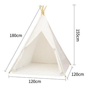 High Quality Home Playing Room Indian Style Durable Strong Interaction Infant Toddler Side Pocket Tabernacle Kid Tent Z1123