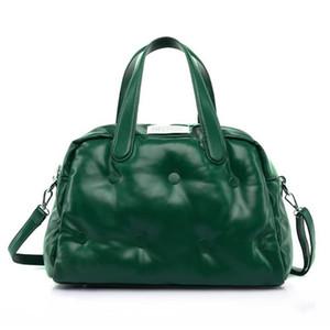 Design Winter Bags for Women 2020 Soft Leather Shoulder Bag Women's Handbags Large Capacity Fashion Pillow Tote Bag