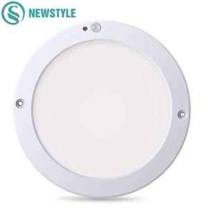 15W 18W Round LED Panel Light Ceiling Lights Led Motion Sensor Downlight Human Body Infrared Detector Flush Mount Light Q1121