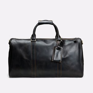 Quality Men Duffle Bag Women Travel Bags Hand Luggage Luxury Designer Travel Bag Men PU Leather Handbags Large Cross Body Bag Totes 55cm