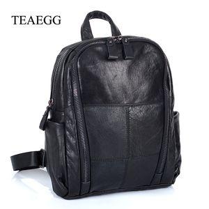 حقيبة جلدية حقيقية جلد البقر Teaegg