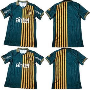 جديد 2020 2020 2021 نادي أتلتيكو بينارول لكرة القدم الفانيلة Peñarol أوروجواي لوكاس Ezequiel Viactri New Home Fabricio Formiliano Football Shirts