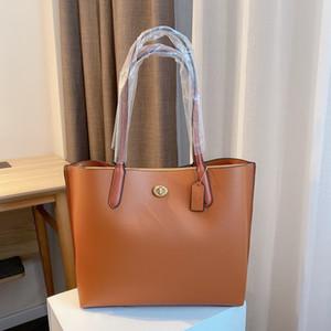 Sac à provisions pour femmes designer Cuir Un sac à main à l'épaule Cuir pour femme Casual Casual Sac de poignée extra-large Gratuit