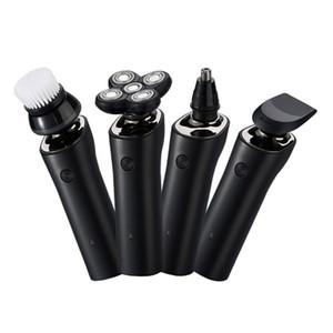 4 in 1 Five Five Blade Rasoio elettrico per uomini Rasoio ricaricabile Beard Nose Ear Trimmer impermeabile A secco bagnato rasoio per rasatura