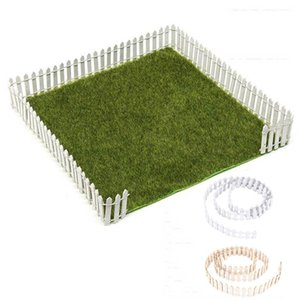 100cm*3cm Miniature Small Wood Fence DIY Dollhouse Fairy Garden Micro Plant Pot Decor Bonsai Ornament