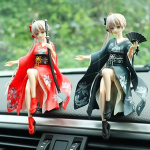 14cm Japanese Anime Toy Edge of The Sky Spring Day Wild Dome Toy Anime Figure Girl Car Ornaments Cartoon Figures