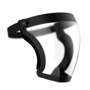 Comfortable Breathable Dust-proof And Saliva-proof Transparent Ergonomic Design Casual Head-mounted Transparent Baffle