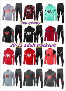 2020 2021 Erwachsene Trainingsanzug Jacke Überneugement Mbappe 20 21 MAILTOT DE FUCE MBAPE Cavani Zipper Jacke Training Anzug Set