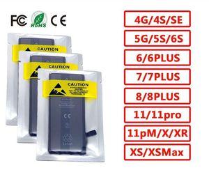البيع بالتجزئة العلامة التجارية الجديدة 0 دورة مختومة OEM البطارية 5 5S 5C SE 6 6S 7 7P 8 زائد X XR XS MAX 11 11PRO 11PRO 12MAX البطارية سلسلة