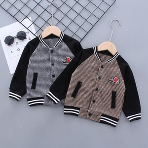 Spring Autumn Baby Outwear Boys Coat Children Girls Clothes Kids Ball Infant Sweatershirt Toddler Jacket SUIT Outwear 0-5 Years 201118