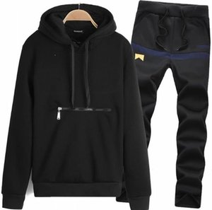 Sets Jackets Sportswear Sweatshirts Sweat Suit Hoodies Wholesale-Mens Men's And Jogging Tracksuits Hoodies Clothing Suits Brand Men Dnqge