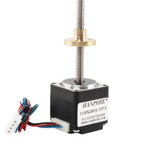 11HS2810-T5*2 length 100mm screw stepper motor NEMA11 T-type screw rod motor for 3D Medical machinery accessories