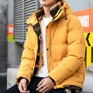 Hooded Collar Jackets Coats Parkas Hombre Invierno Dropshipping Winter Jacket Men Thicken Warm Parkas Men Casual Long Outwear Y1112