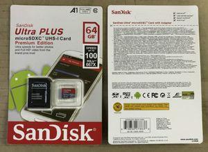 16G / 32GB / 64GB / 128GB / 256 Go SDK Micro SD Card / PC TF Carte C10 / Capacité réelle Carte mémoire / Caméra HD Carte de stockage SDXC 100 Mo