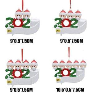 Маска Семейное Рождество Лицо 2020 Новый Рождественский Подвесной Снеговик Носить Маску Детские Взрослые Рождественские Украшения Выжившие