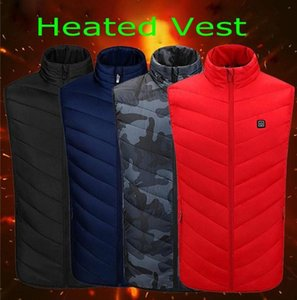 Women's Heated Vest with Battery Pack 5V YKK Zippers and Water Proof Wind Resistant Outcoats Winter Outdoor Vest FS9124