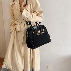 Big Bag for Women 2020 New Fashion Lychee Pattern Kelly Birkin Bag Large Capacity Versatile Portable Shoulder Crossbody