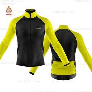 Велоспорт Jersey 2020 Pro Team Raudax Winter Flece Велоспорт Одежда Длинные рукава Рубашки ROPA Ciclismo Triathlon1