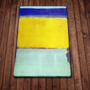 Modern Mark Rothko No 10 Wall Art Canvas Painting Picture Poster and Print Gallery Living Room Home Decor