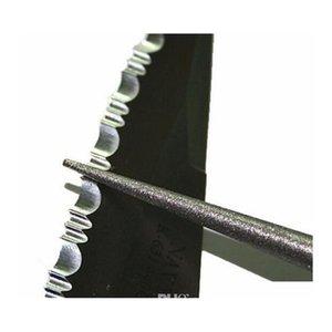 Affilatura professionale Diamante in pietra Diamante multiuso a forma di penna a forma di coltello Grinder Grindstone Gancio da pesca Sharpner Adaok