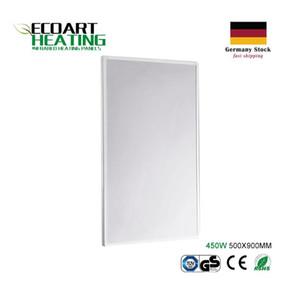 Pannello riscaldante a infrarossi 450 Watts Super Slim ad alta efficienza Home Radiatore elettrico Germania Magazzino