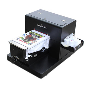 DTG A4 T Shirt Printer With RIP 9.03 For T Shirt,Leather,Fabric,Hat,Sweater Printing.etc