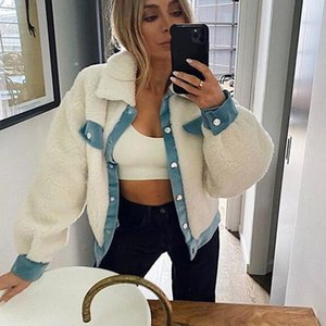 Foridol Faux Fur Coat Women Clothes Casual Turn Down Teddy Bear Coat Jackets Female Autumn Winter Coats Streetstyle 2021