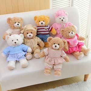 Baby Stuffed Bear Toys Boys Girls Plush Bear Toy Doll Wedding Decoration Toy XHX 001