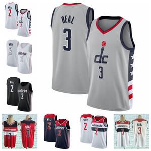 Männer 2020 Jersey 2 John 3 Bradley Hohe Qualität Wandbeal Basketball-Trikots