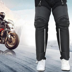 1 paio di inverno motociclista caldo ginocchiere antiscivolo ad ispessimento antivento scooter scooter rider kneepads1