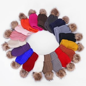 Children New Knit Hat For tag Girls And Boys Cap Fashion Baby Kids Cap For Children's Accessories Baby Girls Boys