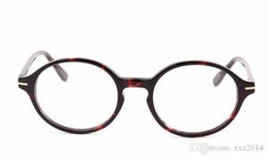 جديد C5049 الرجعية خمر جولة النظارات الشمسية الإطار 53-21-145 وصفة طبية نظارات نقية لوح مجموعة كاملة المعتاد النظارات الشمسية