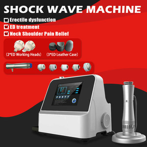 2020 New Design Beauty Machine Shock Wave Therapy Machine Power Vibrator ED Electromagnetic Extracorporeal Analgesic Massager
