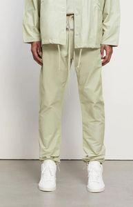 2020 pantalones para hombre pantalones retro pantalones de lujo resistente a la suciedad láser reflectante color triángulo cuero bordado de metal nylon pantalones