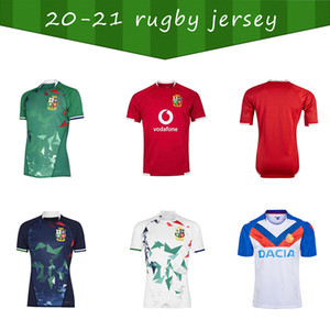 2020 National Rugby League Britannica e Irish Lions Lions Rugby Jersey Shirt Nations Lions Rugby Polo Shirt S-5XL Lions Red Pro Jersey 20 21