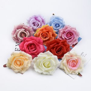 50 100 Pieces Silk roses Valentine's Day present wedding bridal accessories clearance flowers wall home decor artificial flowers Z1120