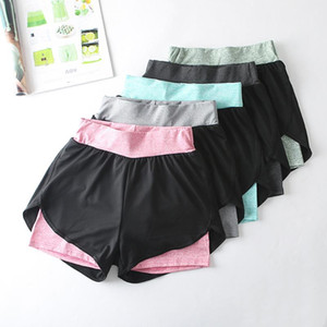 Unisex Summer Yoga Shorts Women Mesh Breathable Ladie Girl Short Pants For Running Bicycle Athletic Sport Fitness Clothes