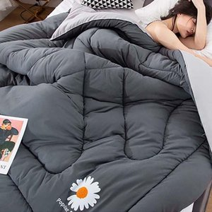 Comforters & Sets Thickened Winter Quilt Student Adult Velvet Duvet Bed Comforter King Queen Full Twin Size Blanket