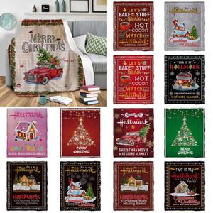 13 نمط بطانيات عيد الفانيلا الشتاء الدافئة بطانية زينة عيد الميلاد هدايا عيد الميلاد هدايا عيد الميلاد XD24152