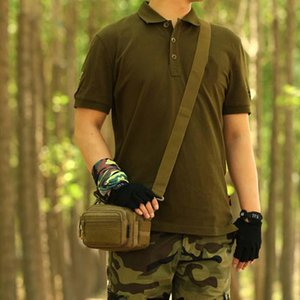 Tactical Crossbody Bag Molle Outdoor Sport Bag Men Camping Hiking Travel Climbing Package