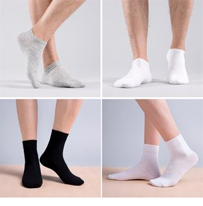 Mens Plus Size Middle Tube Socks Fashion Trend Four Seasons Thickening Stretch Business Socks Winter Male Casual Homme Mid Length Sock