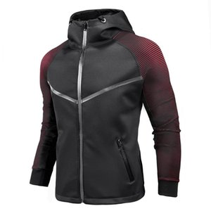 Men's Casual Cardigan Jacket Personality Gradient Racing Suit Tactical Mens Jackets And Coats Bomber Men Coat Chaqueta Hombre